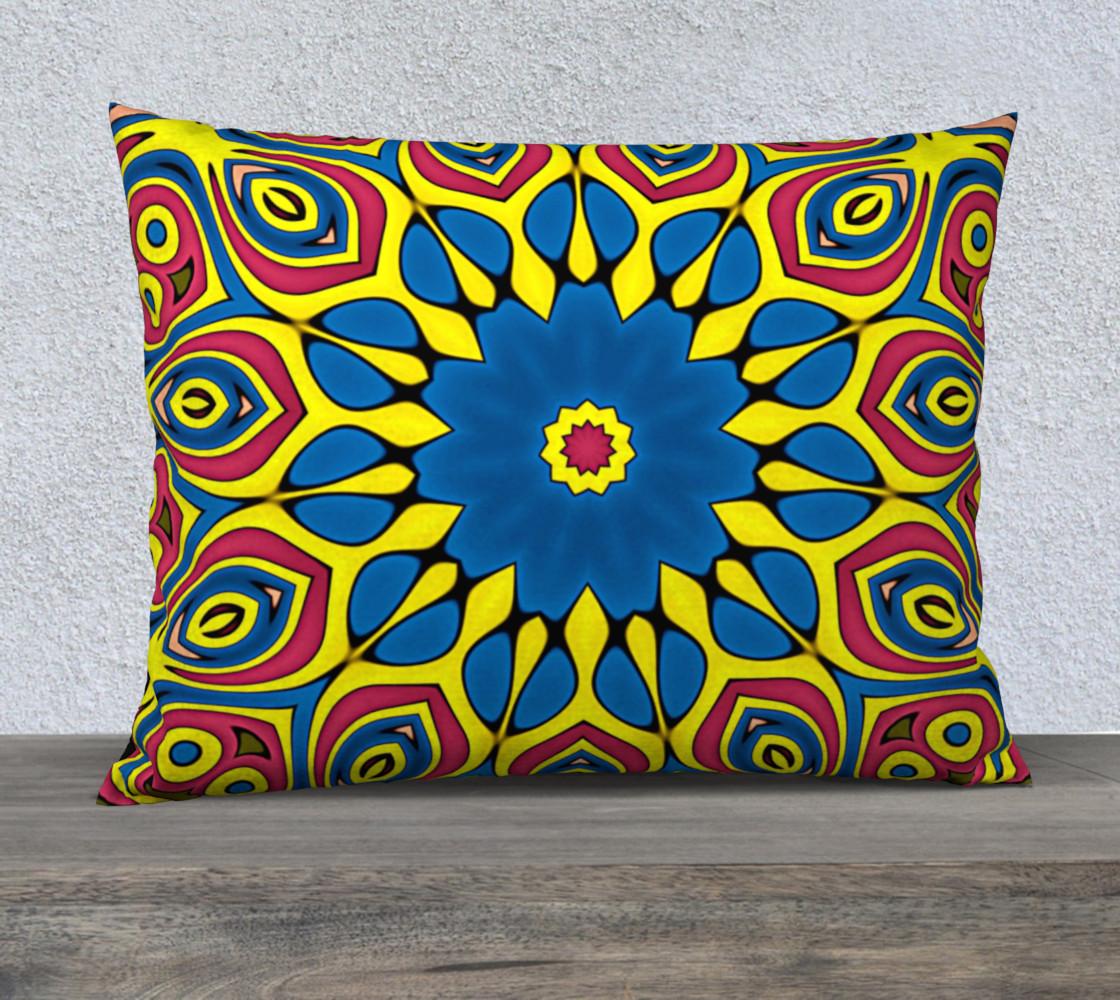 Aperçu de Yellow Flower Mandala #1