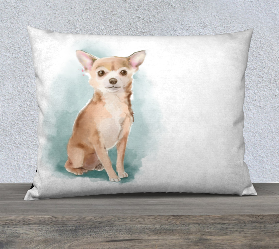 Chihuahua watercolor   preview #1