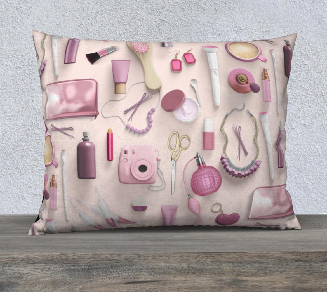 Aperçu de Pink Vanity Table #1