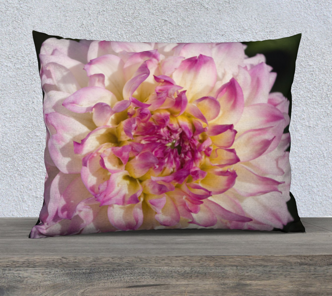 Pink Dahlia Pillow Case preview #1