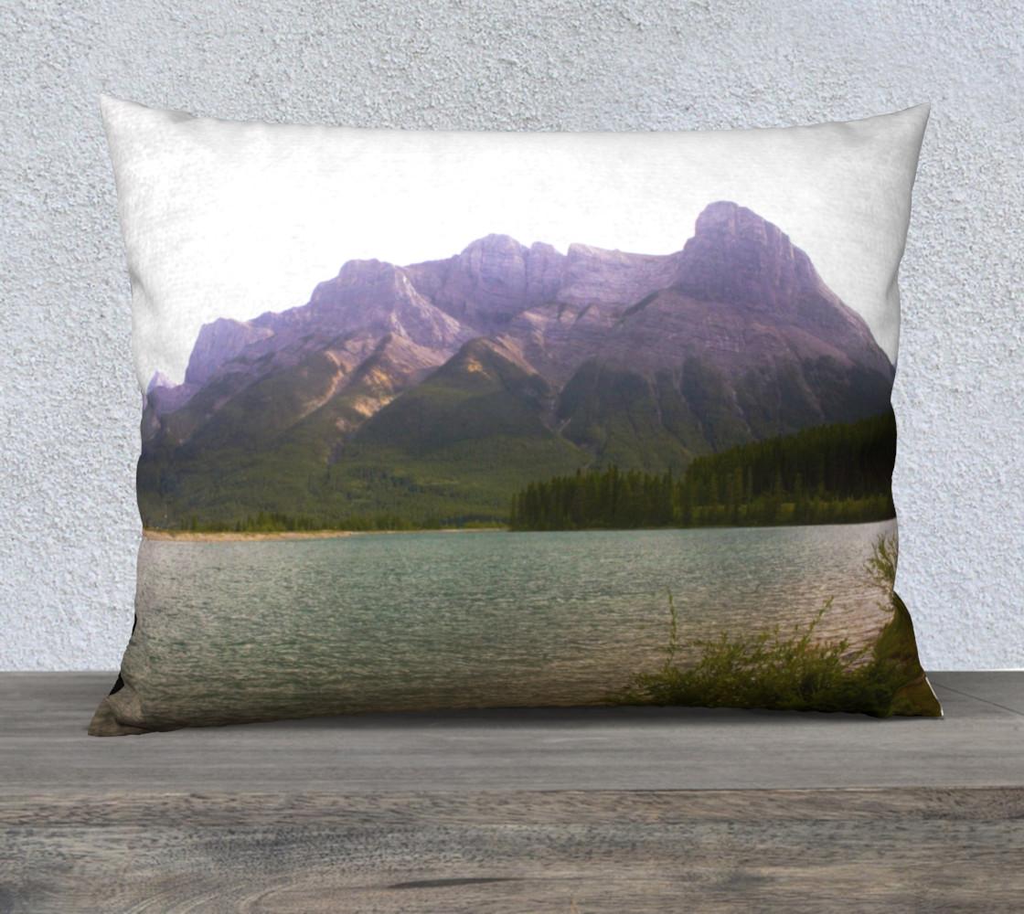 Aperçu de Misty Mountain Pillow Case #1