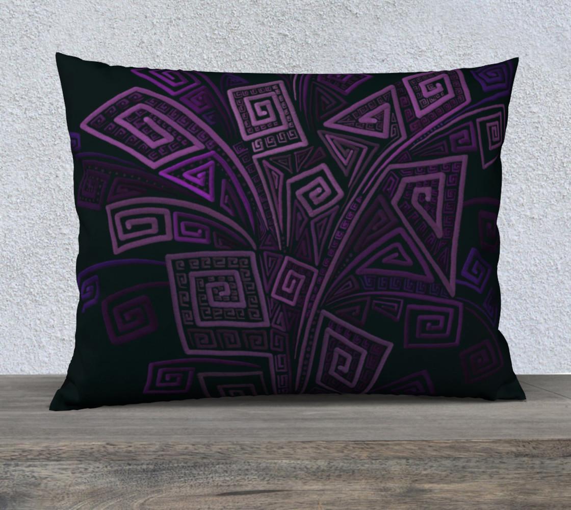 Aperçu de Purple 3D Square #1