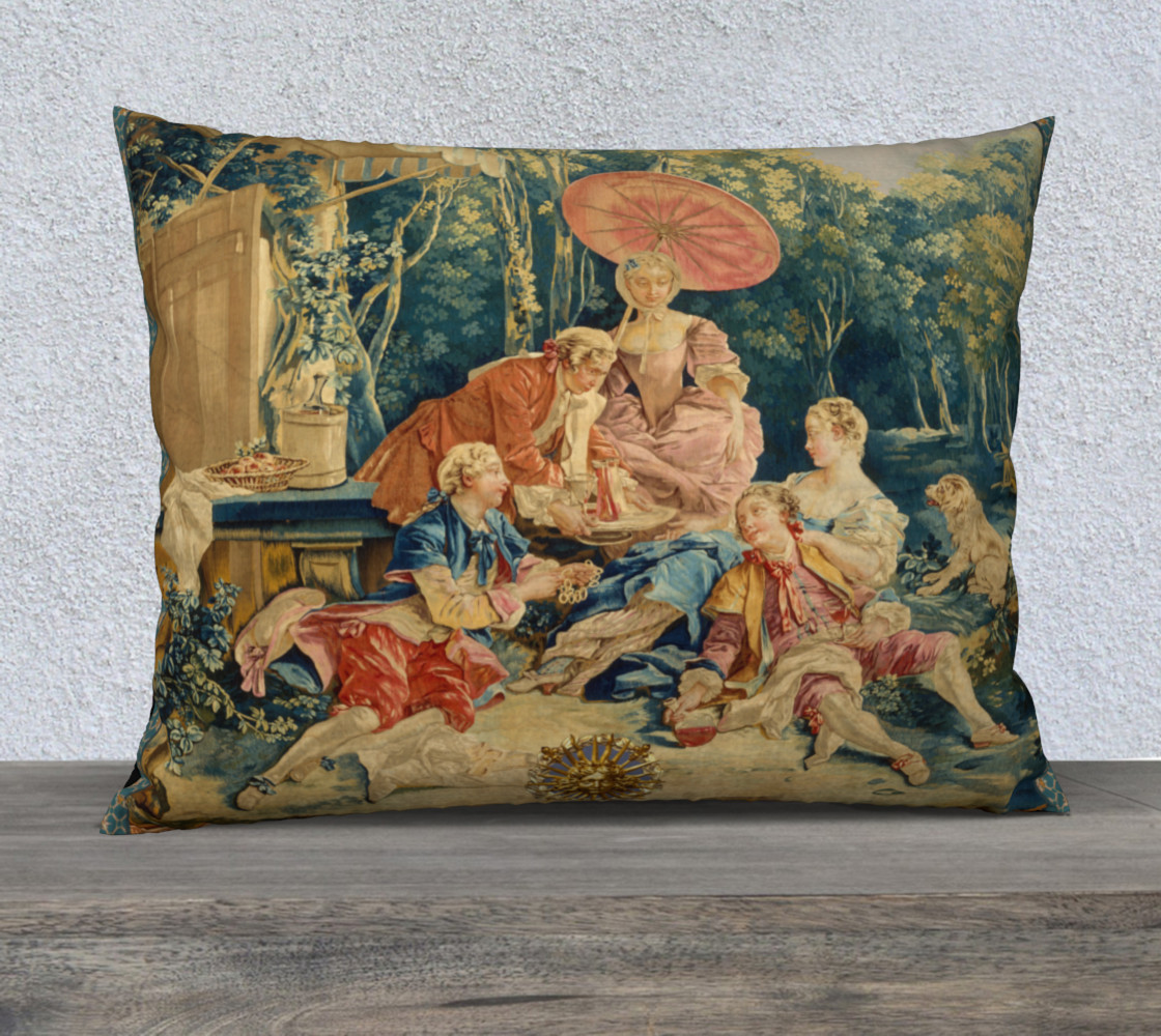 Pastoral Picnic Pillow III preview #1