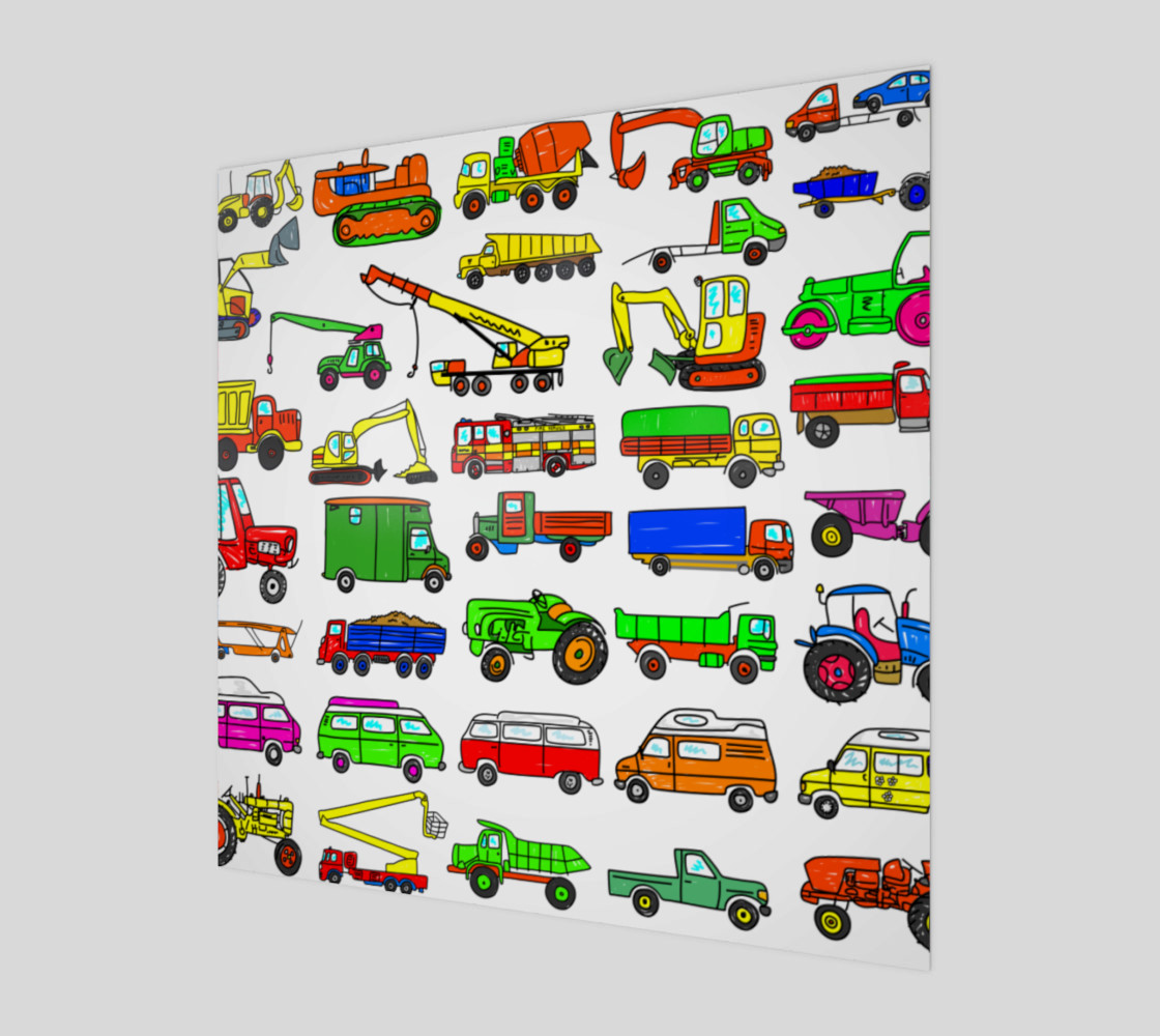 Trucks Vans and Vehicles preview #1