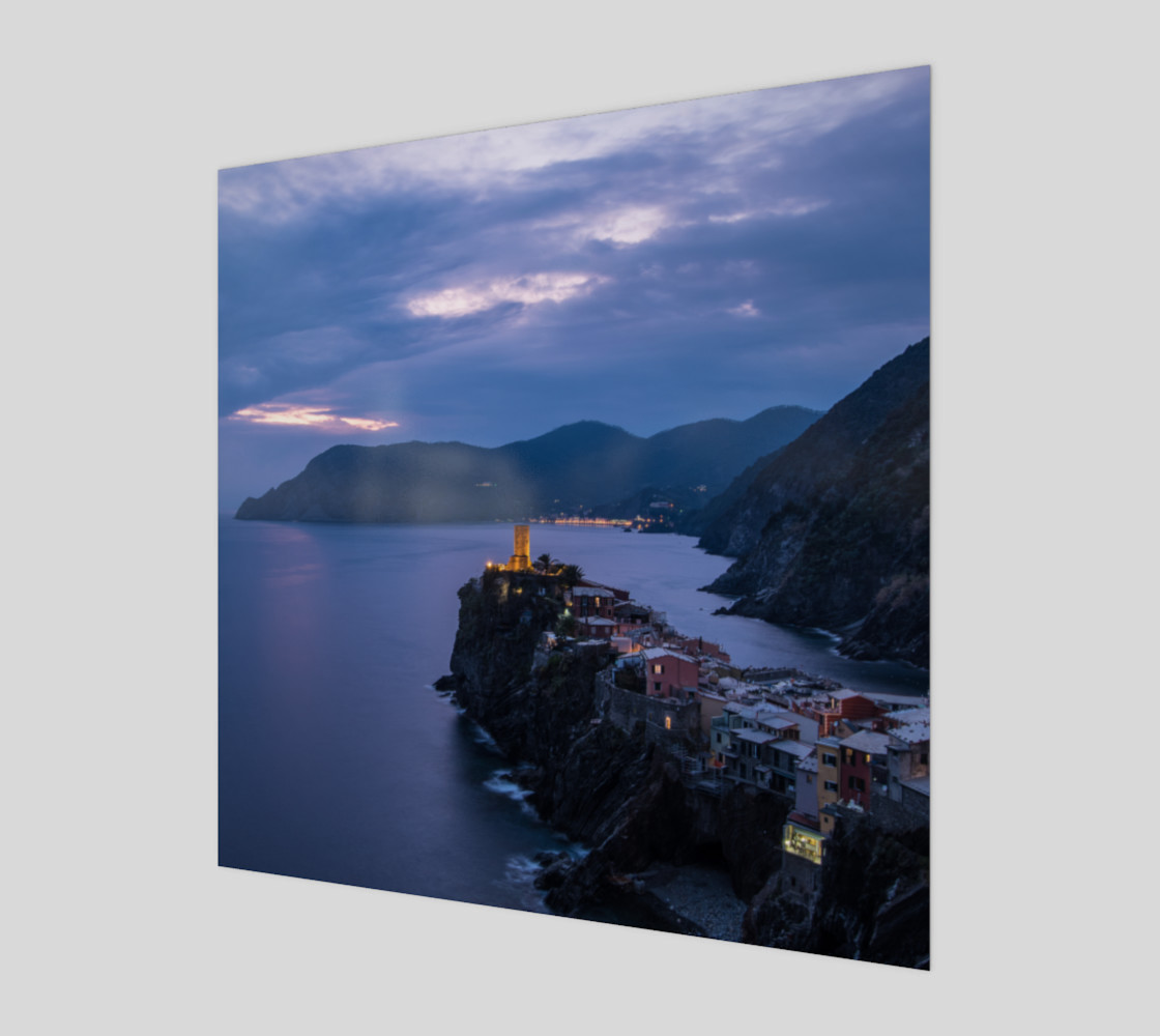 Utterly Italy Vernazza Sunset preview #1