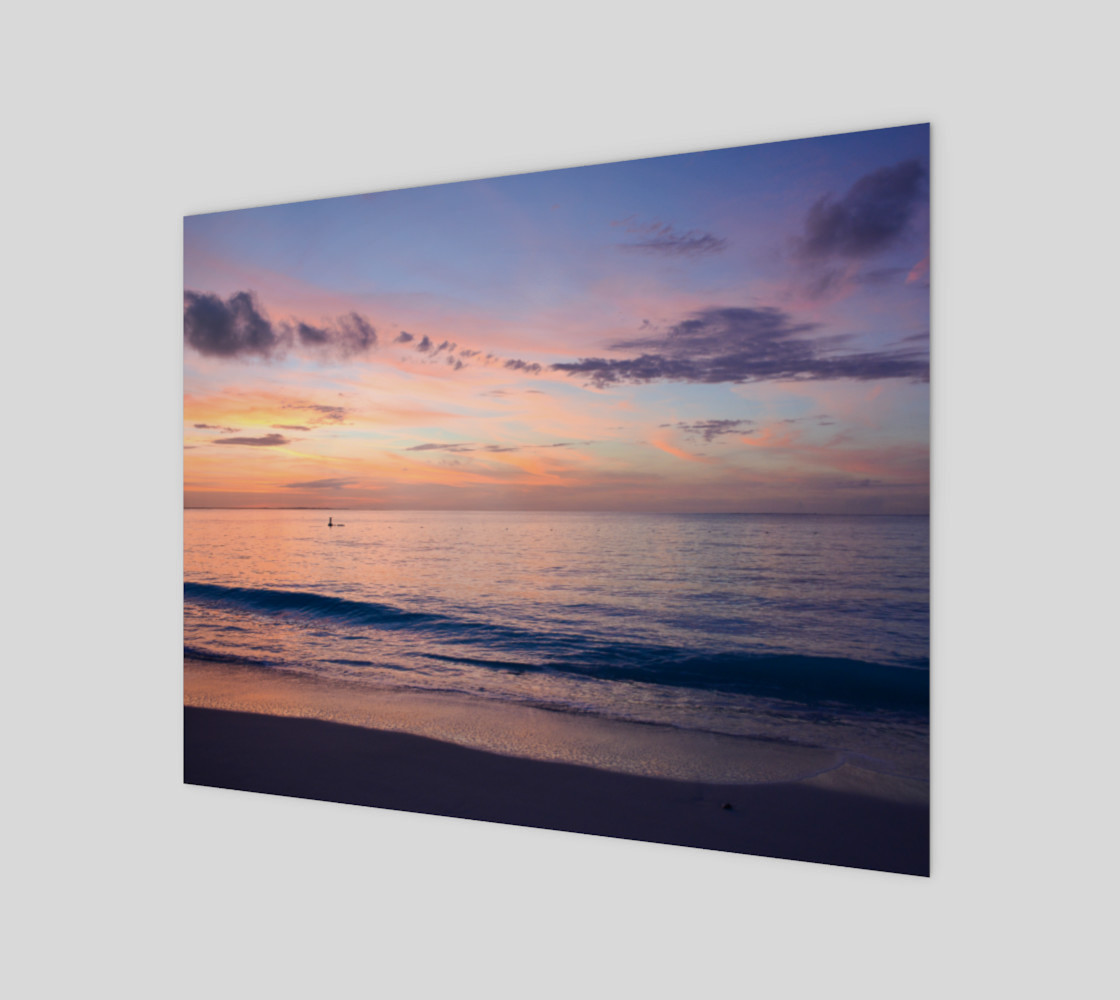 Grace Bay Sunset Wall Art preview #1