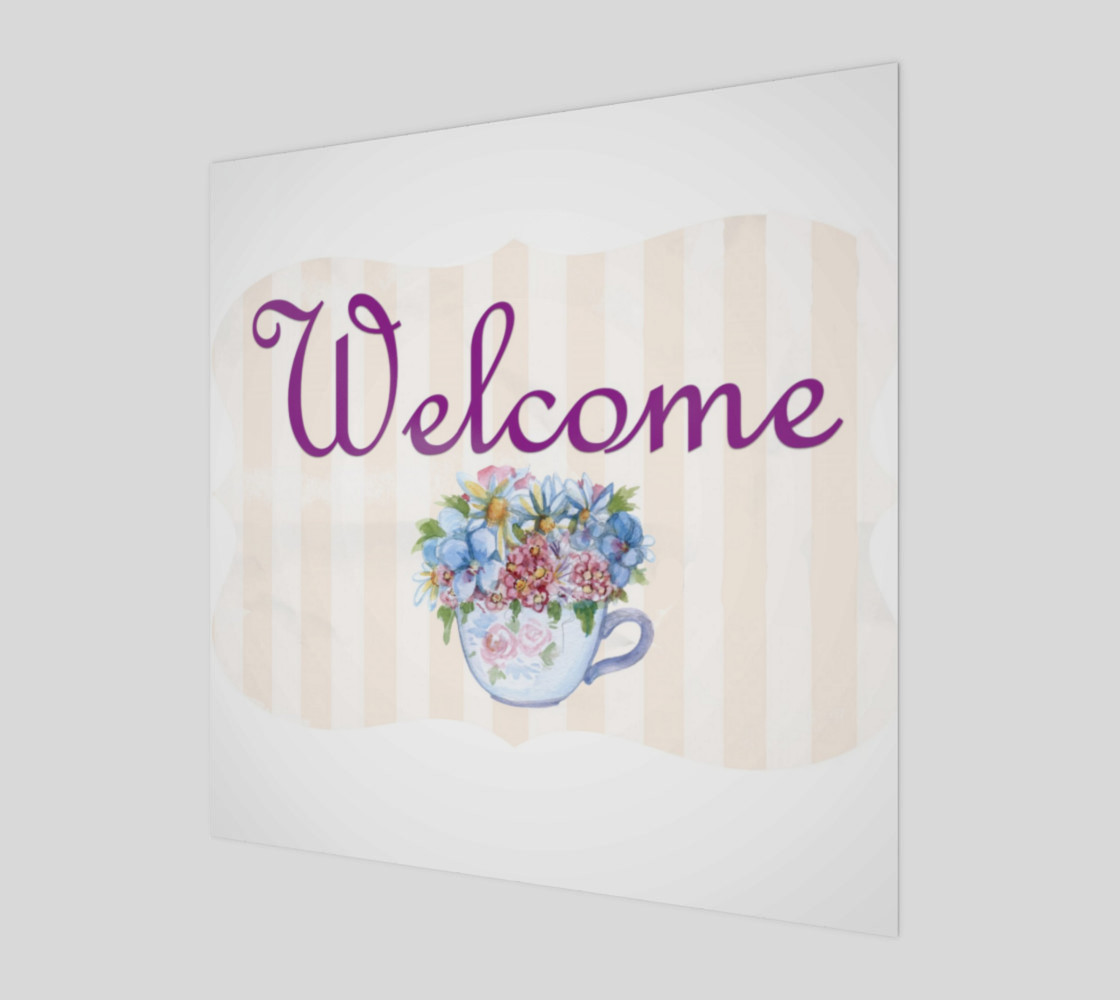 Welcome Wall Art preview #1