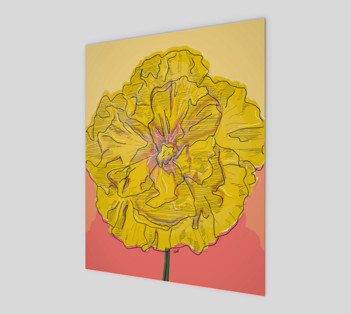 yellow flower preview #1