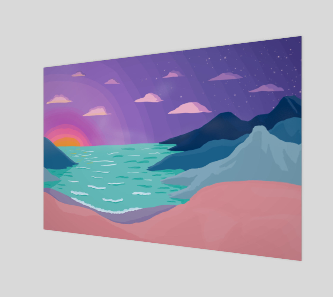 Mountains by the Sea preview #1