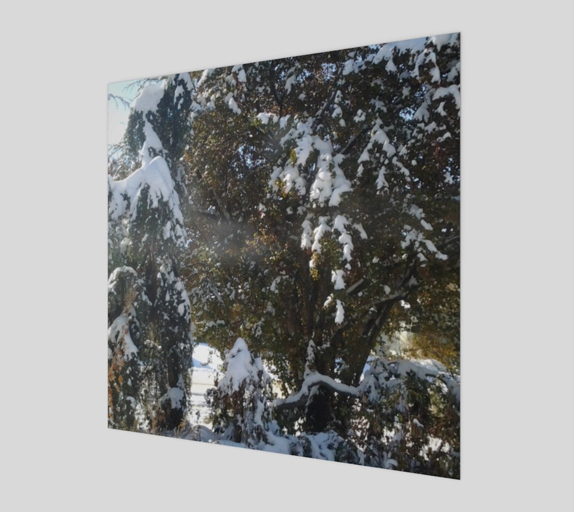 First Snow Wall Art preview #1