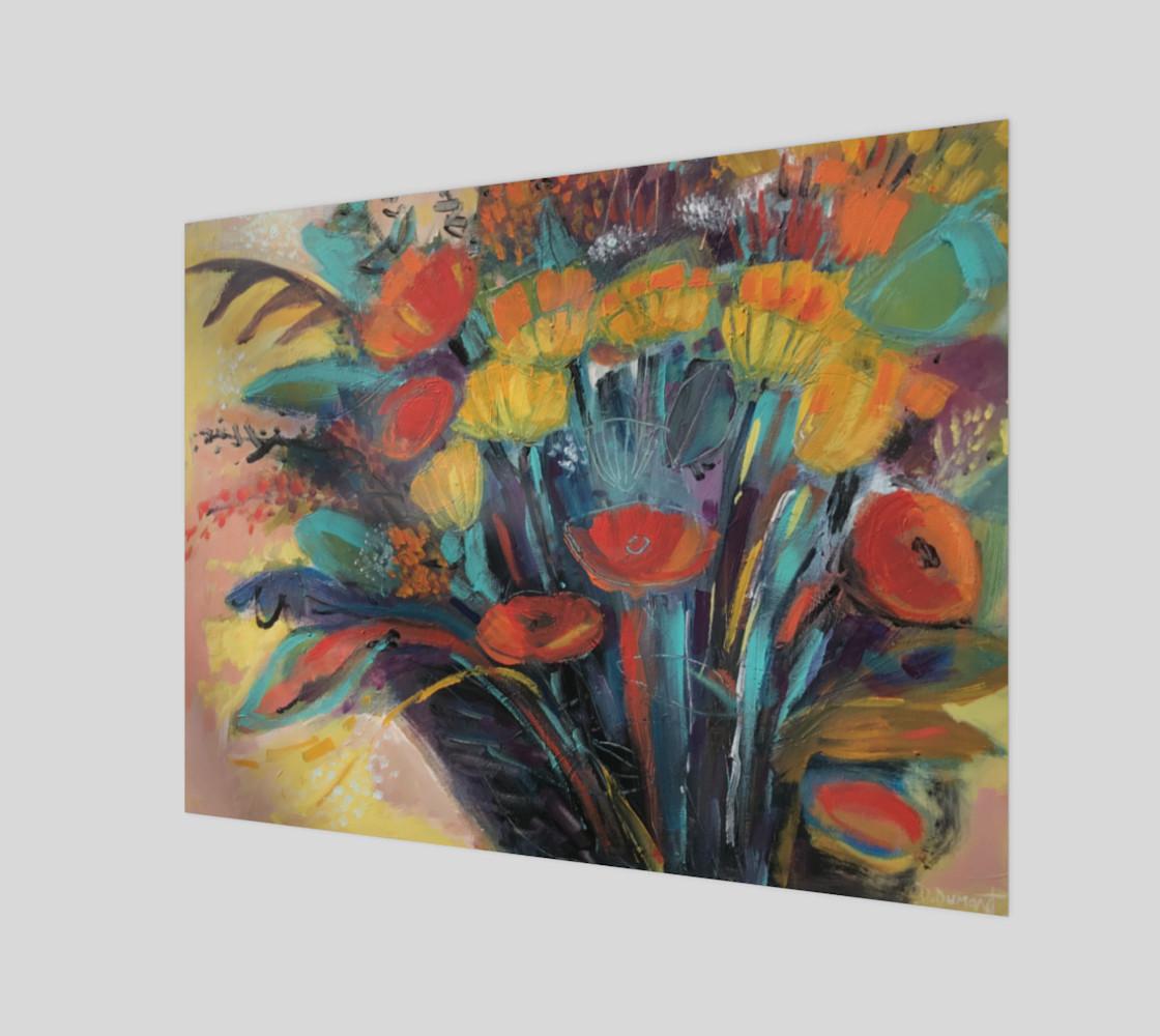 Aperçu de Toile Floral #1