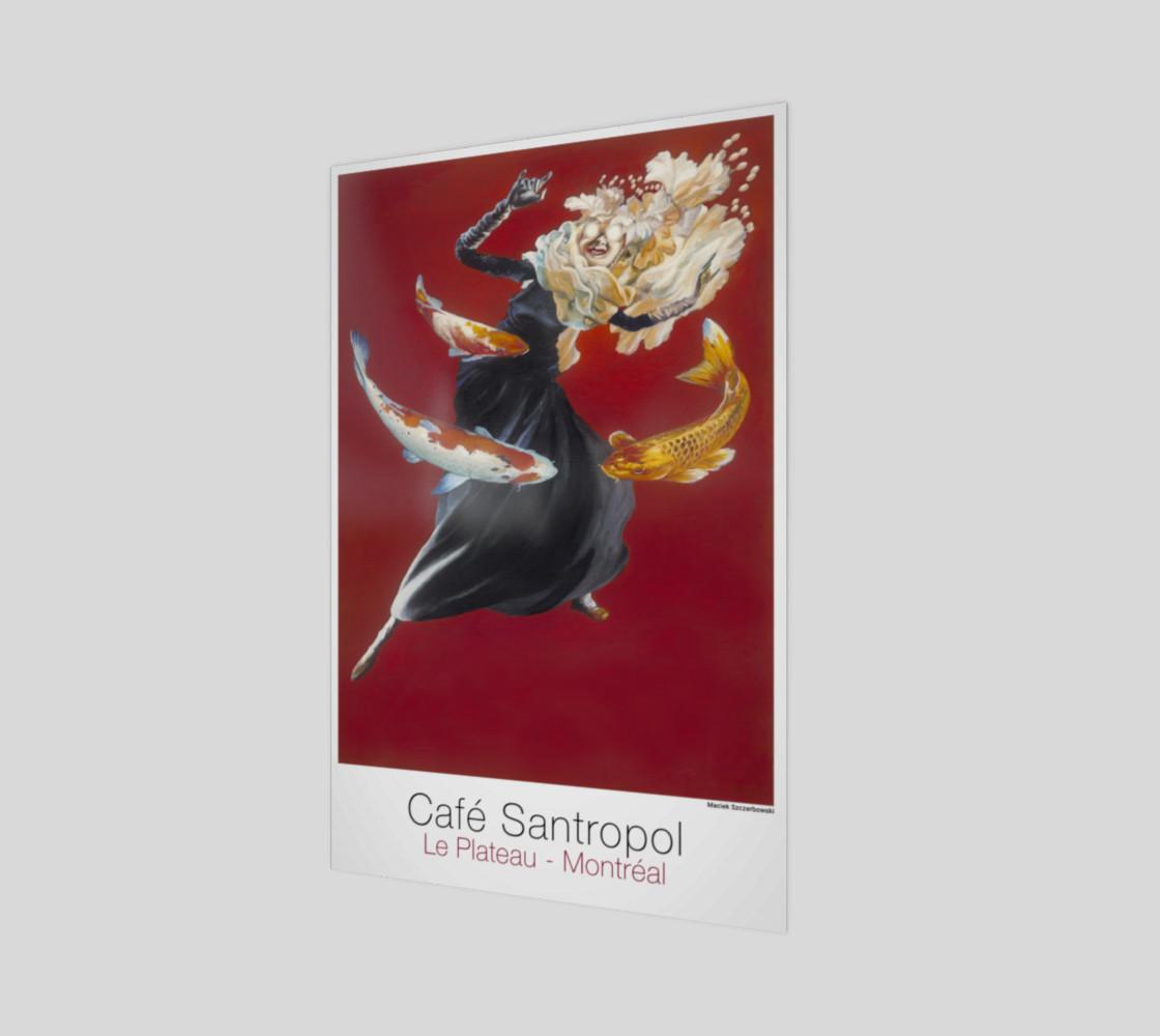 Cafe Santropol - Woman & Goldfish preview #1