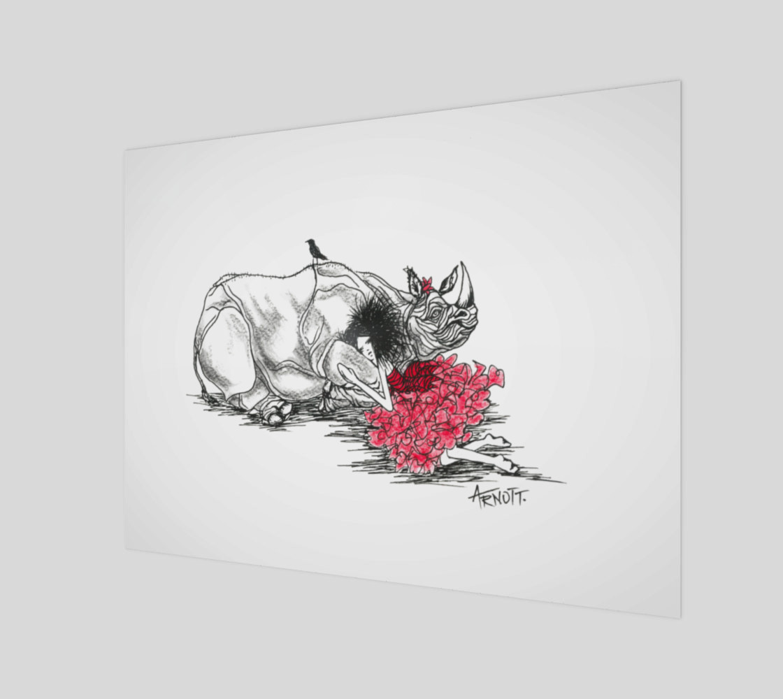Red Rhino print 3D preview