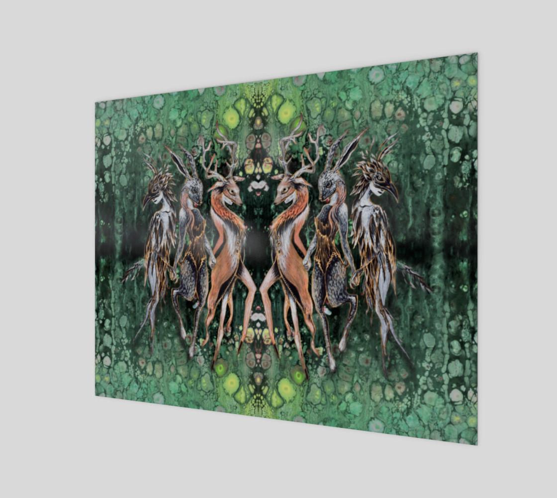 Aperçu de Masquerade in The Mirrored Forest #1