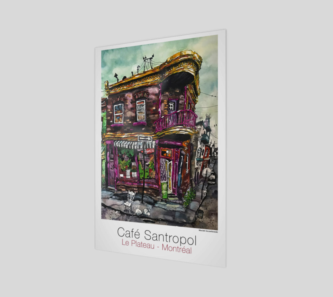 Cafe Santropol - Purple Corner House preview #1