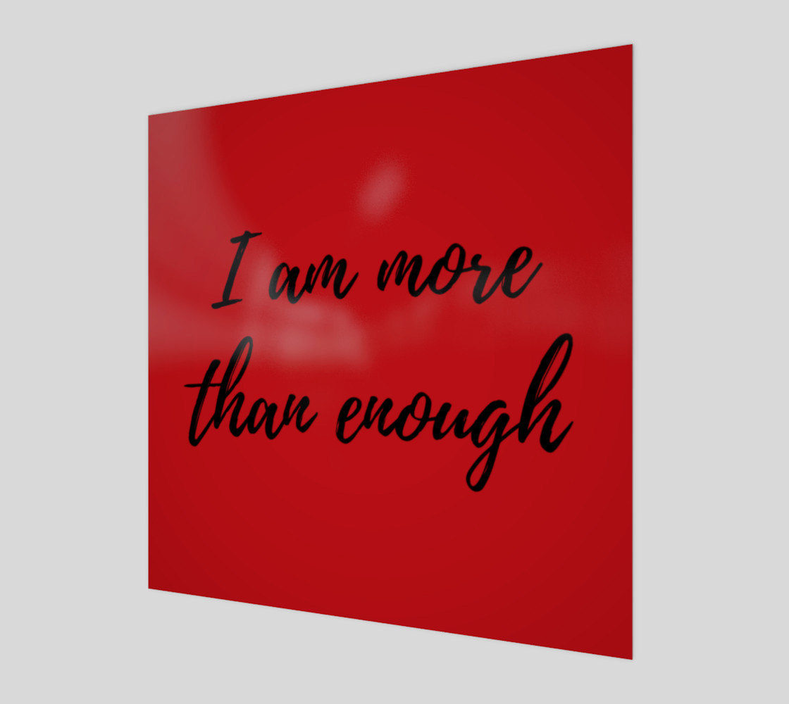 I am more than enough on Canvas preview #1