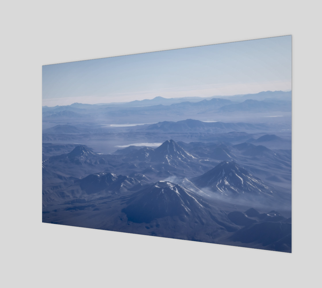 Window Plane View of Andes Mountains preview #1