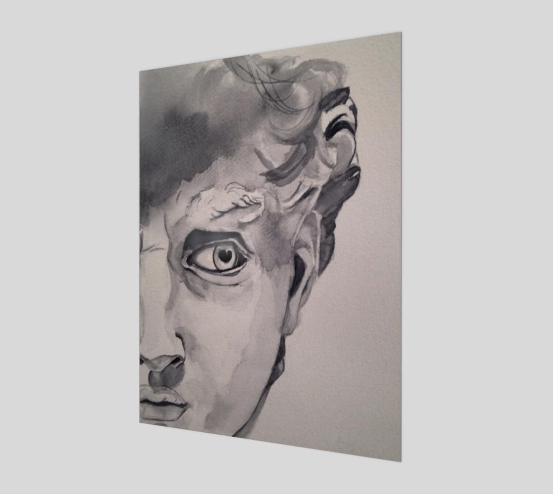 David - Watercolor preview #1