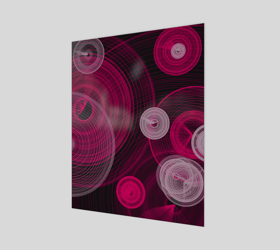 "Circles Wall Art 16"" x 20"" preview #1"
