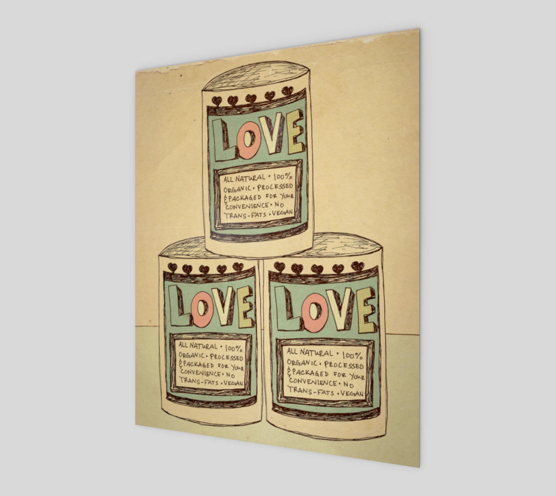 Canned Love 8x10 preview #1