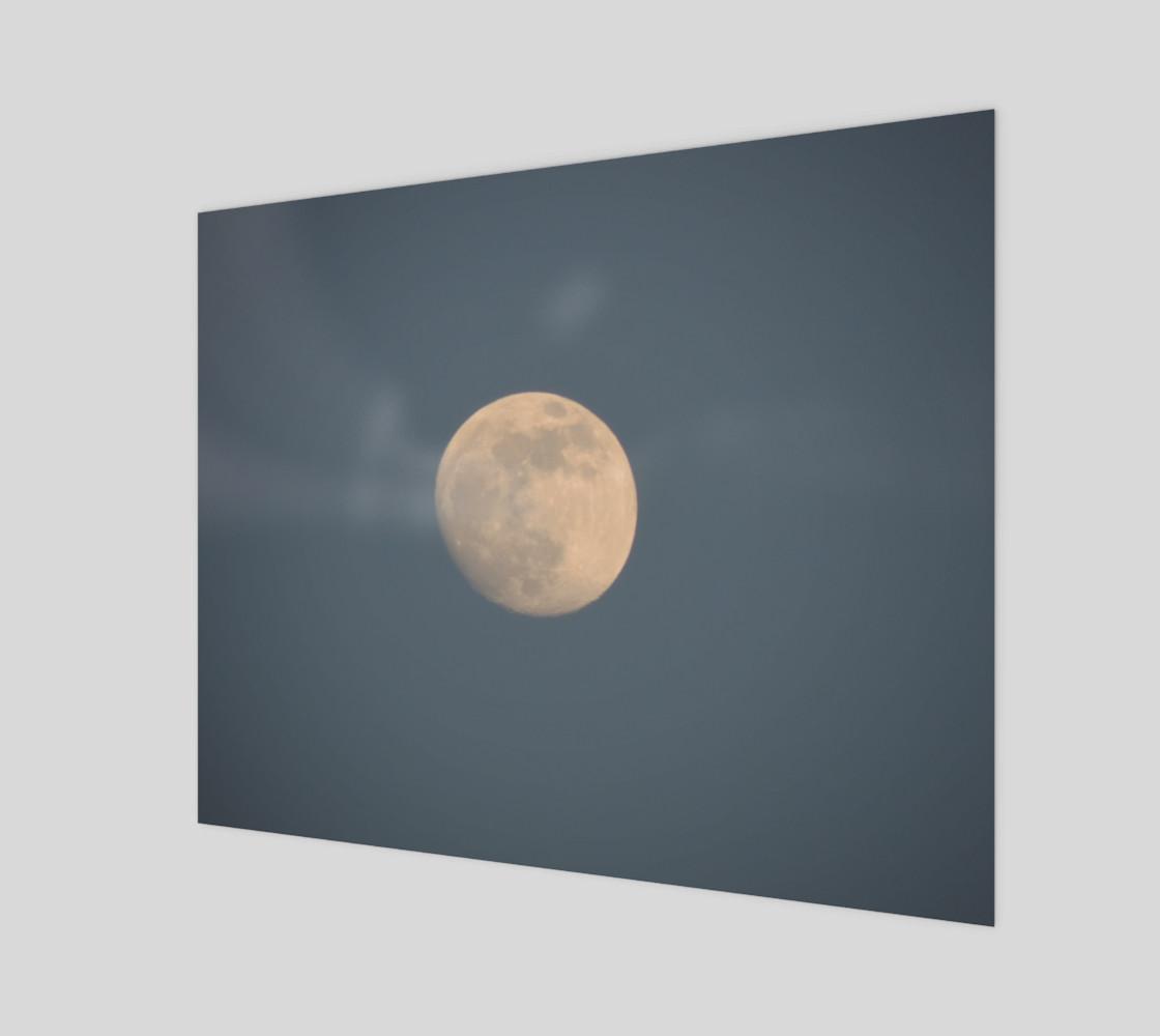 Aperçu de Moon and blue sky #1