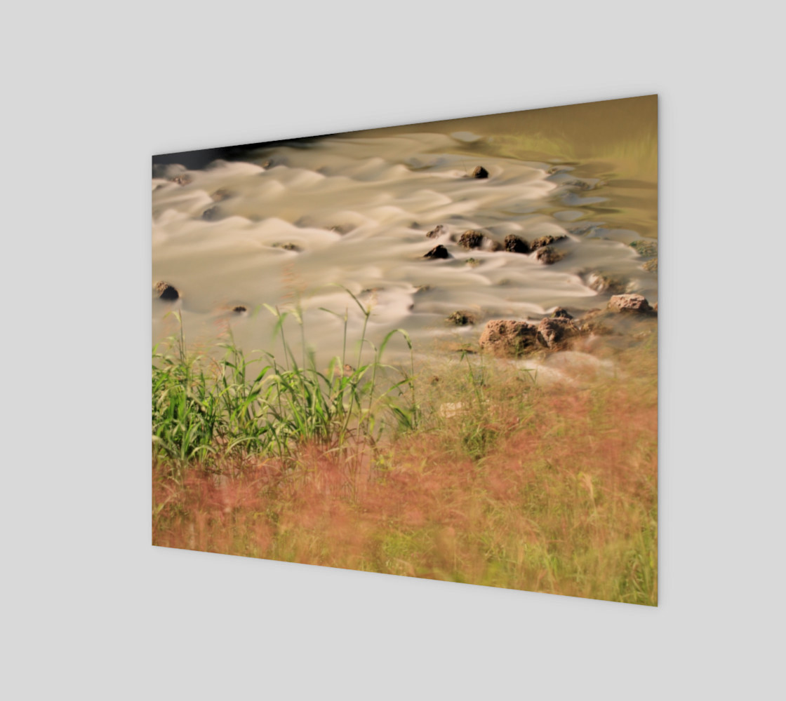 Dancing Autumn Grass  By The Silky River Bank 3D preview