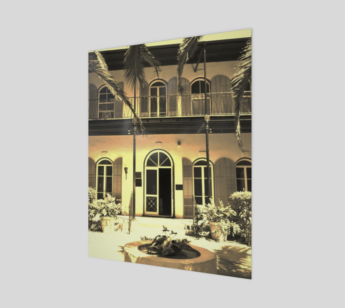 Hemingway House Vintage 3D preview