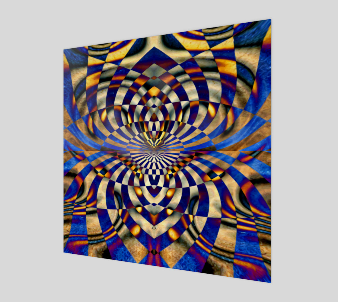 Aperçu de Grungy Squiggly Rectangles Mosaic #1