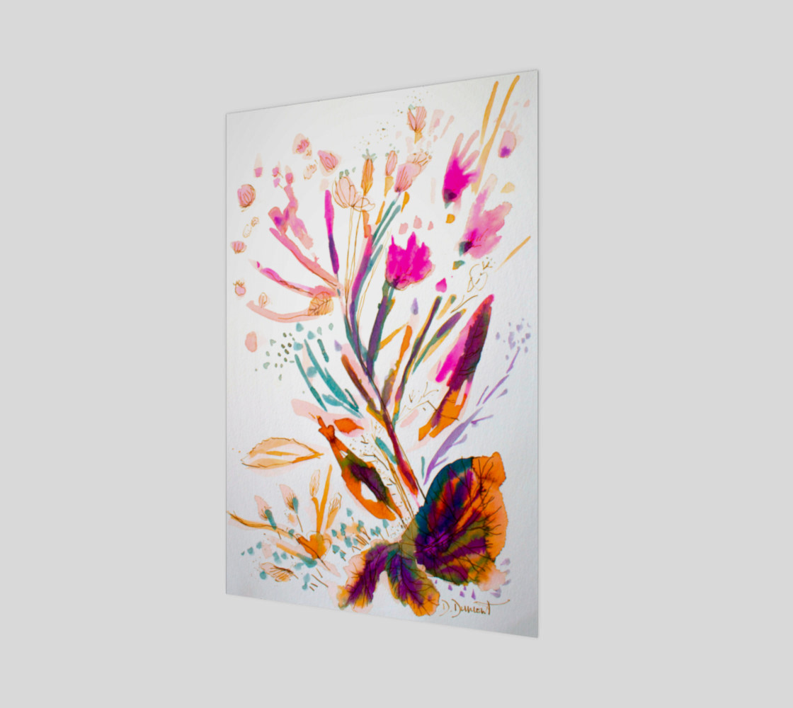 Aperçu de wall_art_Pink Sea Weeds #1