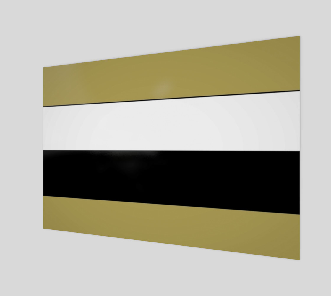 Elegant Black White Brown Gold Stripes Pattern preview #1
