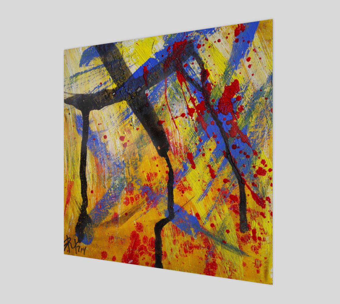 Grunge Paint Splatter Graffiti Abstract preview #1