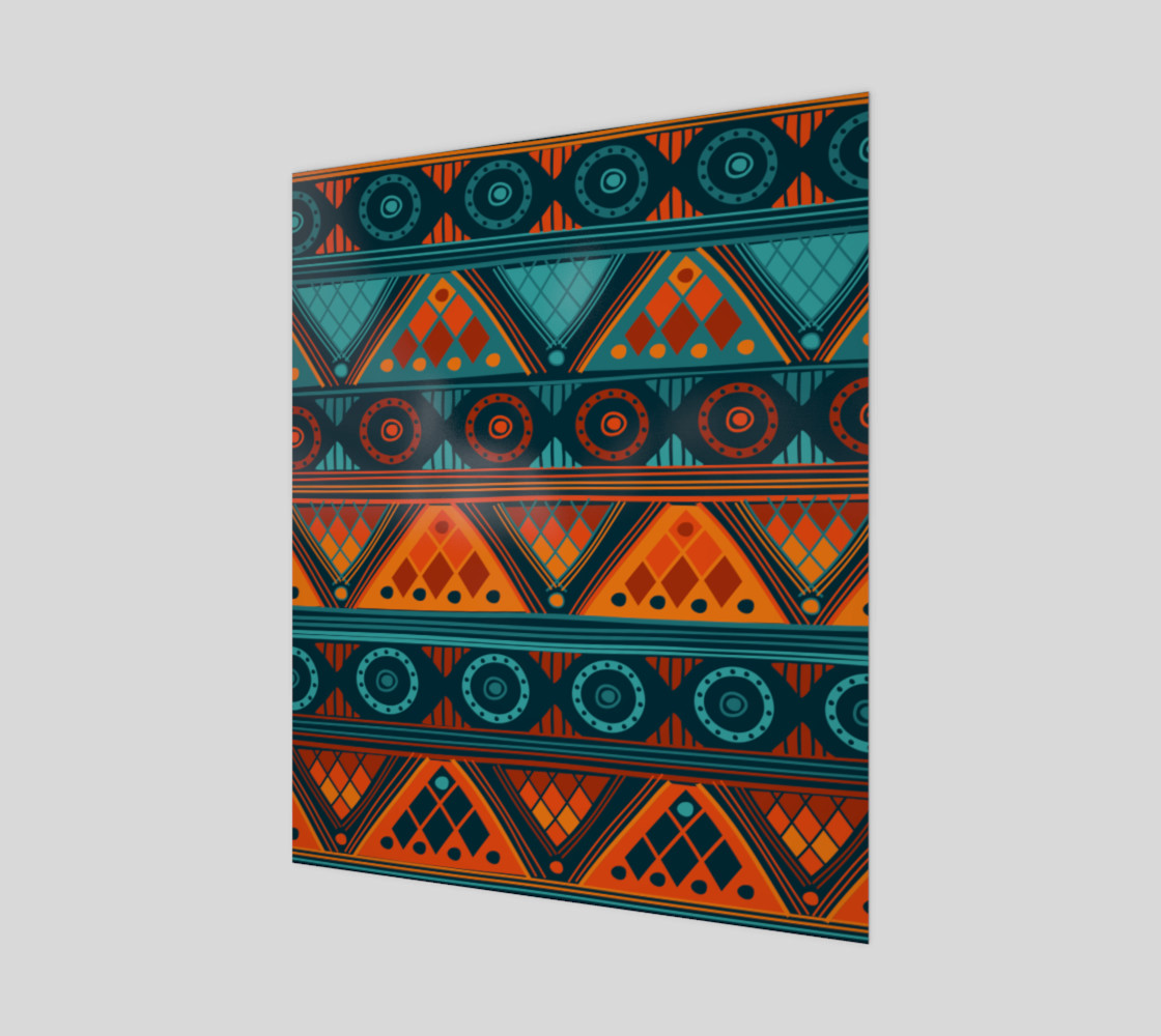 Colorful Ethno Pattern  Miniature #2