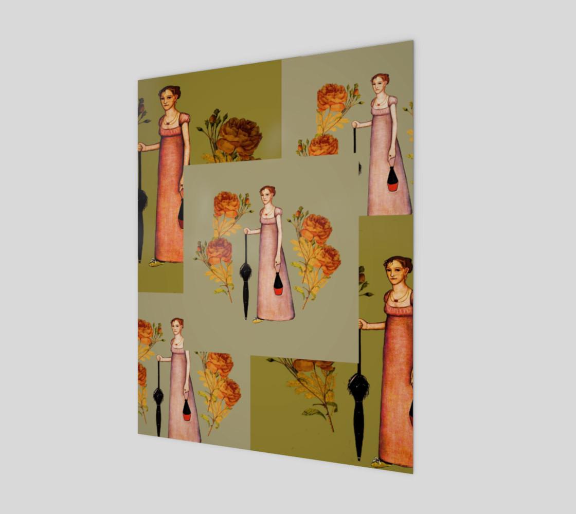 Aperçu de Vintage Lady with Umbrella #1