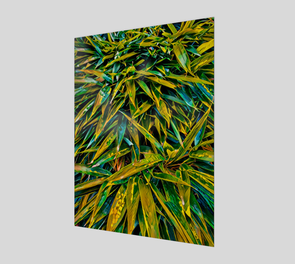 Bamboo leaves Miniature #2