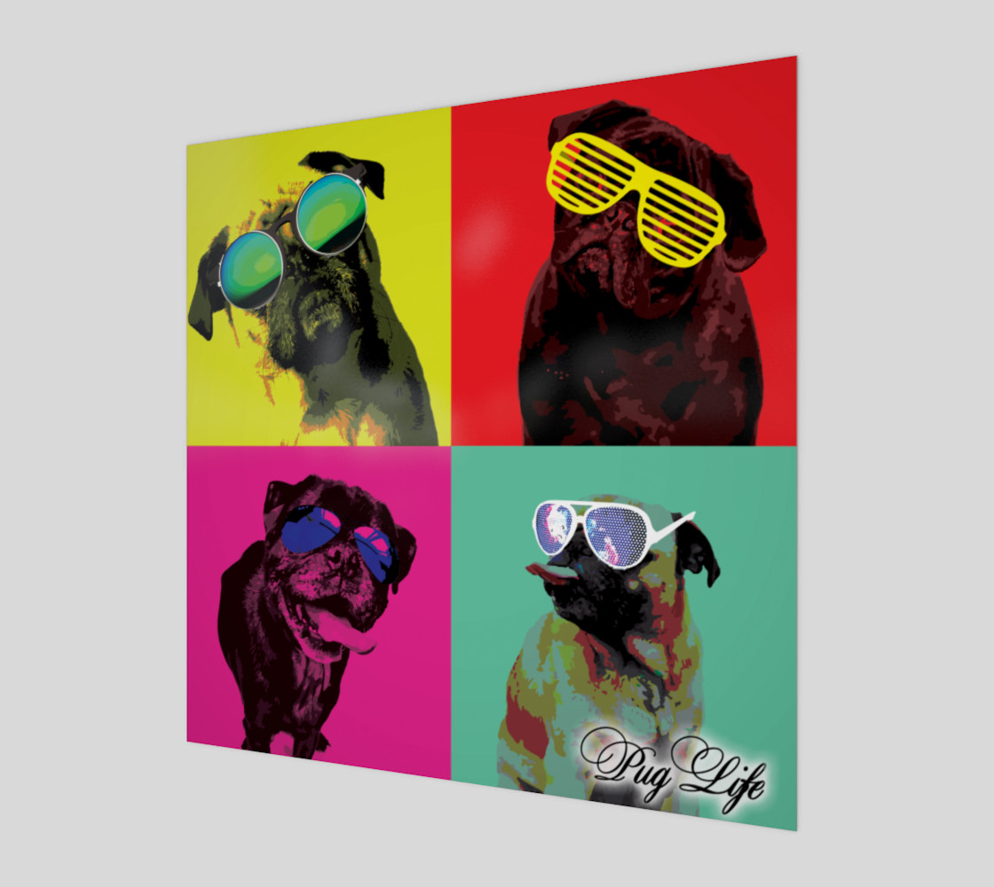 It's a Pug Life WallArt preview #1