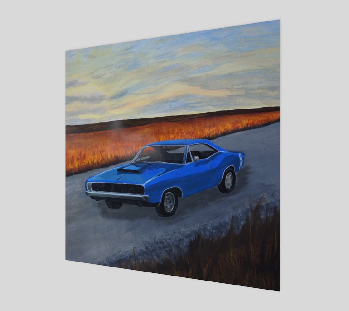 Dodge Charger Wall Art Miniature #2