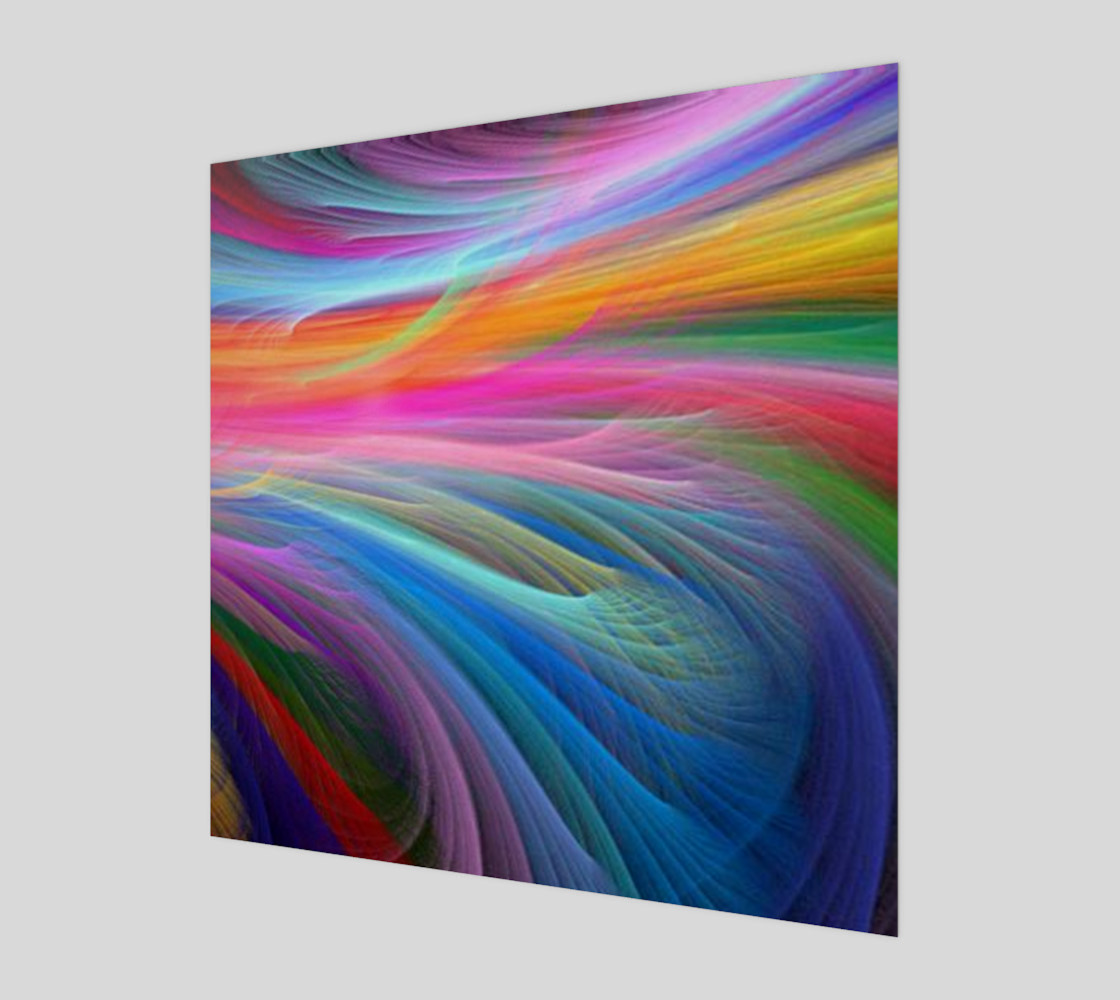 rainbow feather preview #1