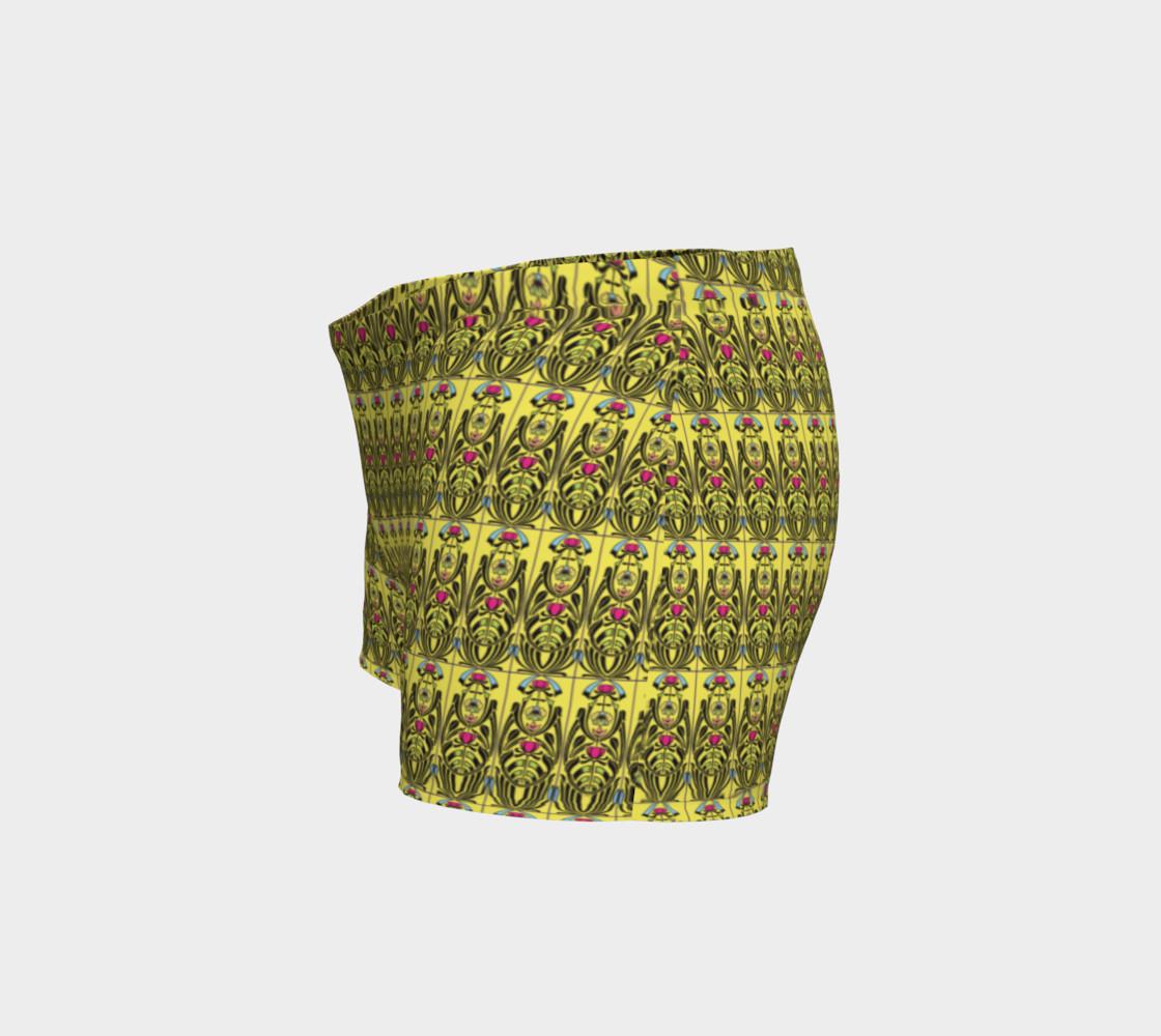 Yellow Nouveau Shorts preview #2