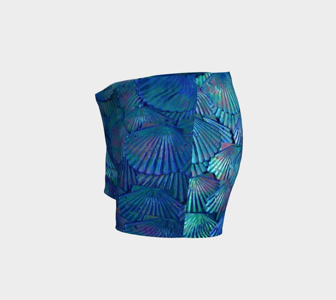 Blue Scale Shorts  preview #2