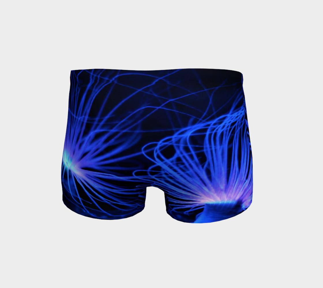 Black light Reactive Anemone Shorts preview #4