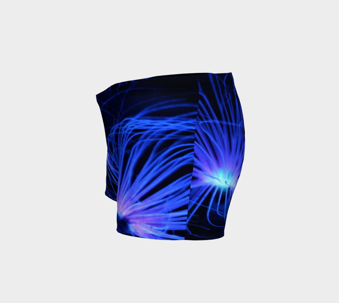 Black light Reactive Anemone Shorts preview #2