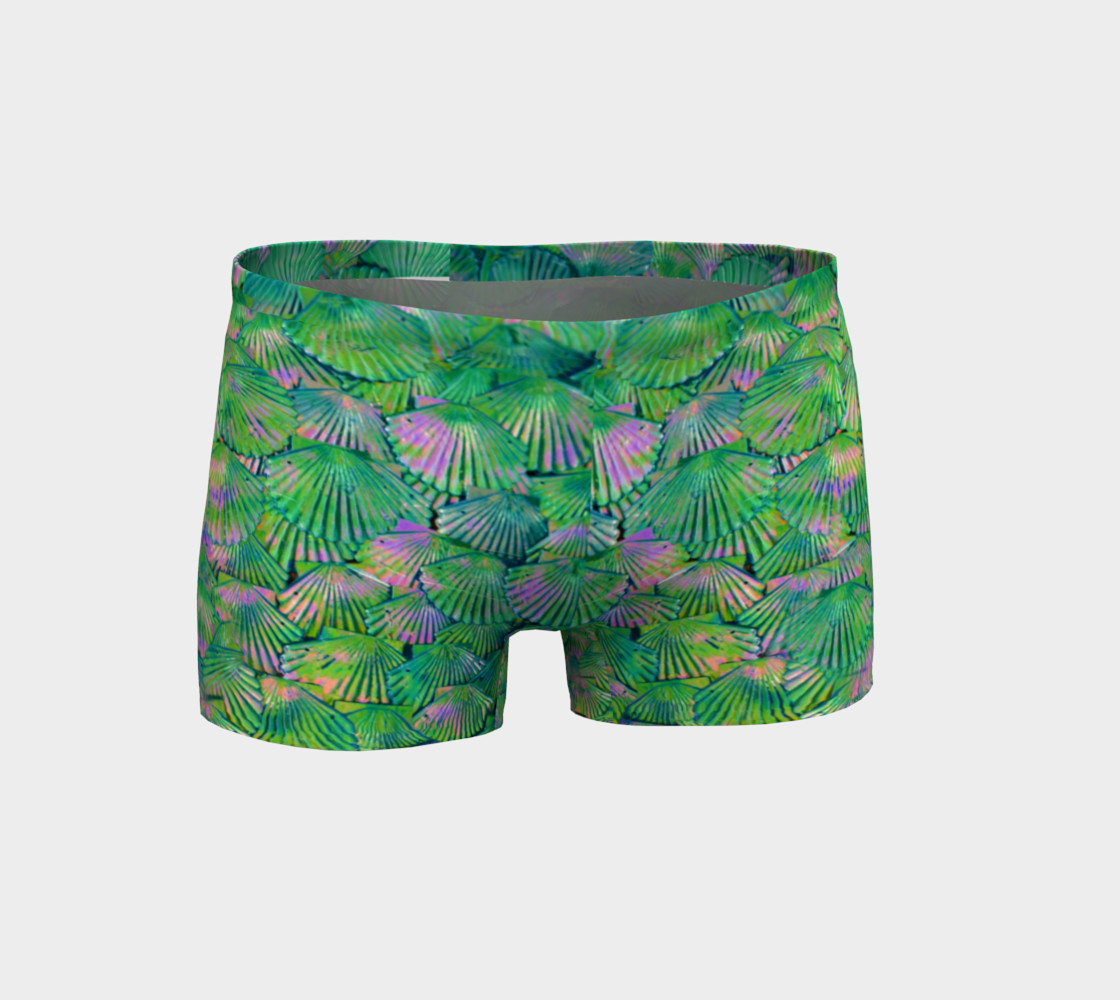 Green Scale Shorts  preview #1