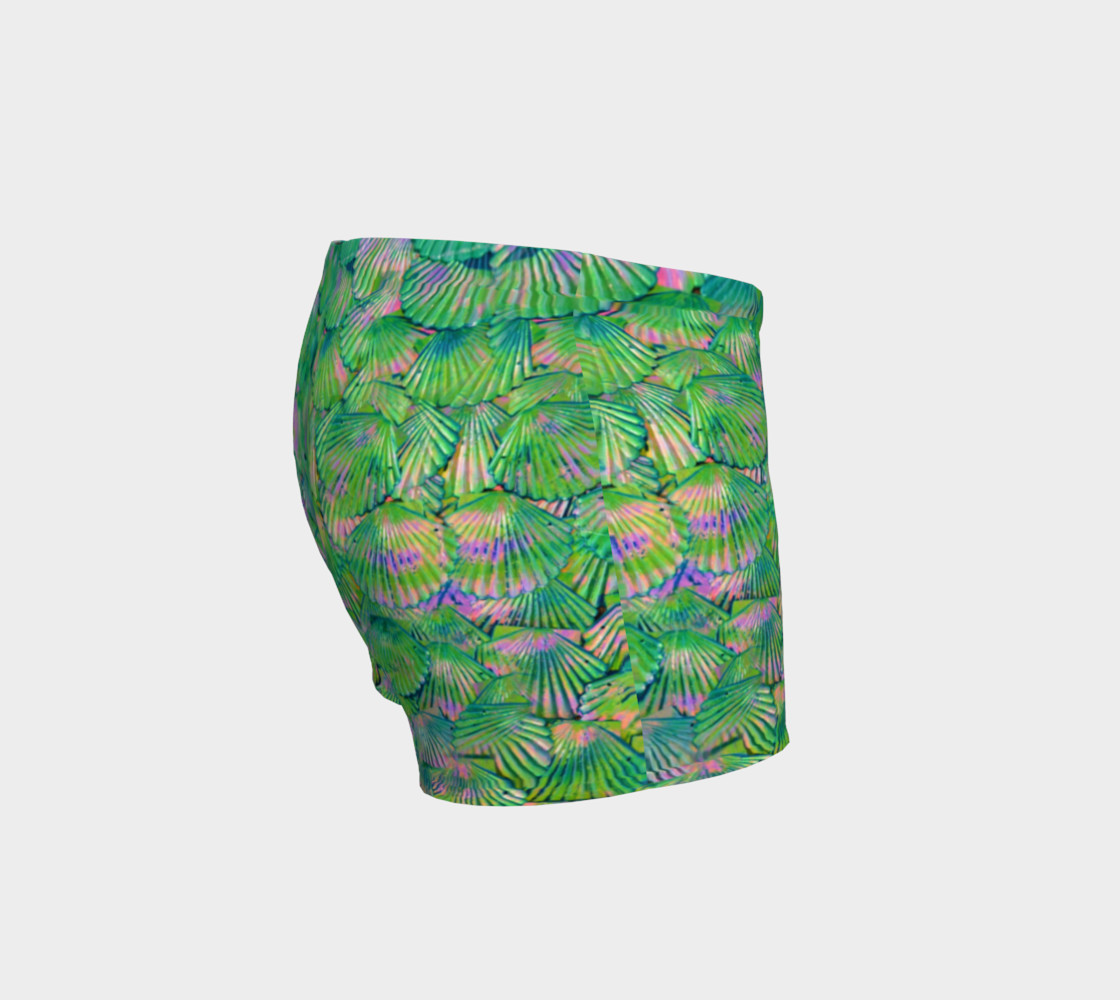 Green Scale Shorts  preview #3