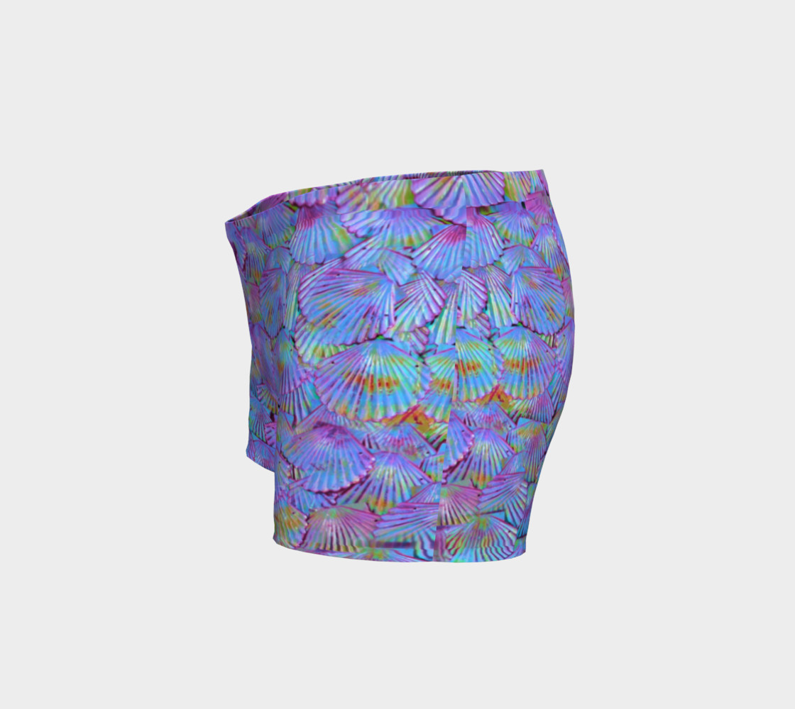 Purple Scale Shorts  preview #2