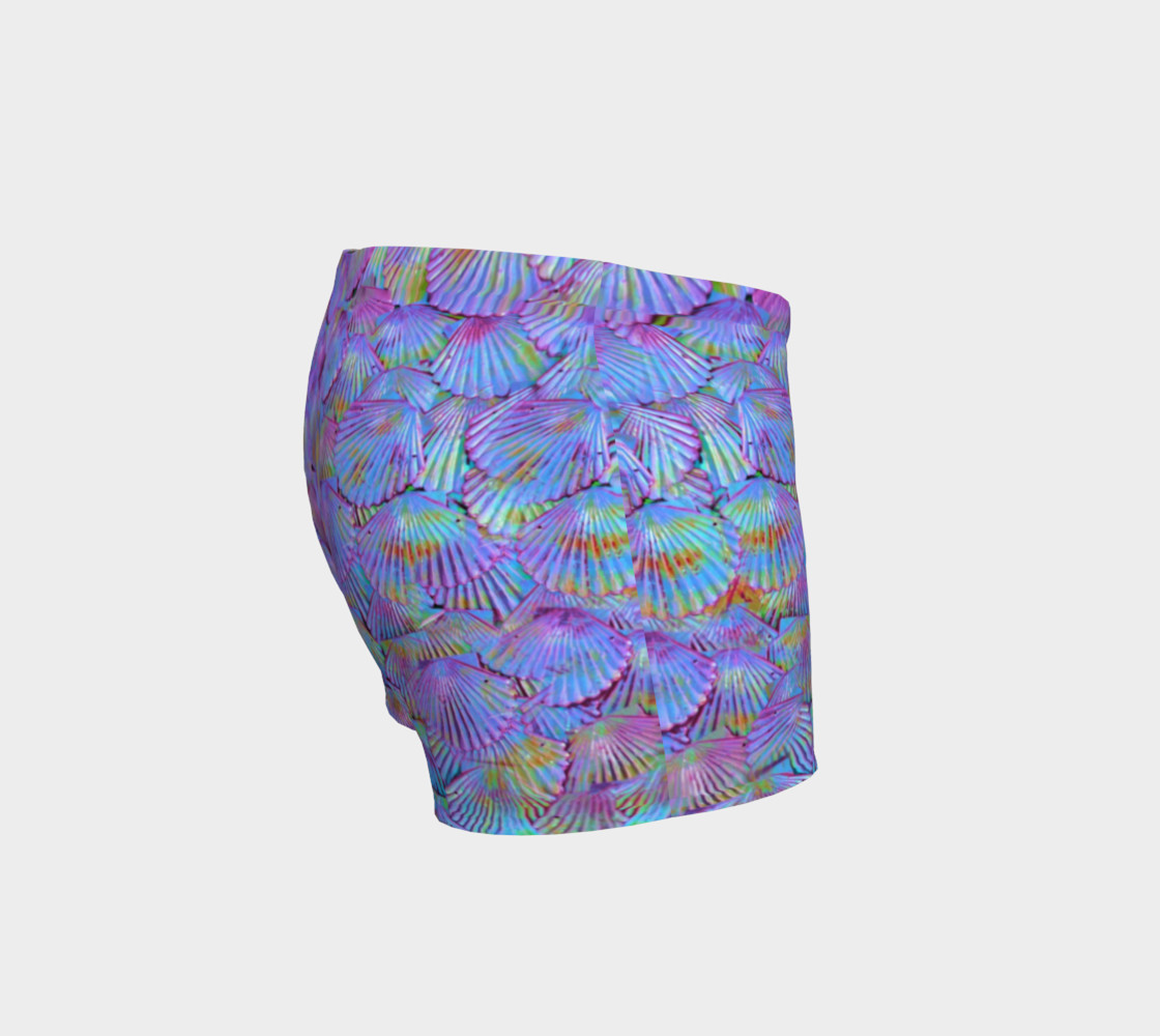 Purple Scale Shorts  preview #3