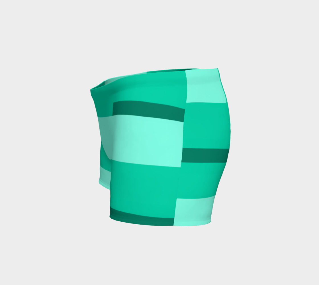 Teal Ocean Shorts preview #2