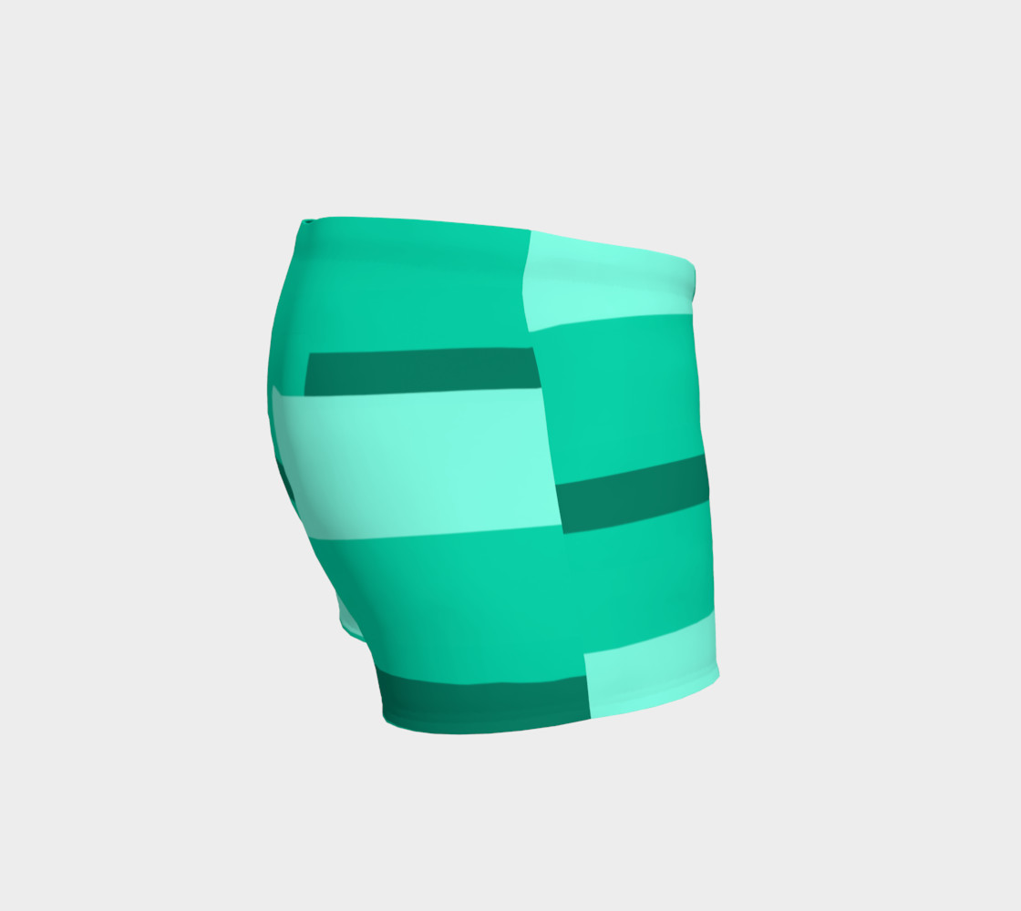 Teal Ocean Shorts preview #3
