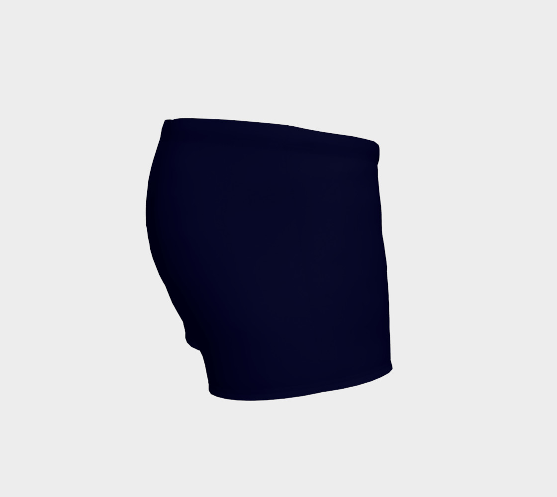 Navy and fushia poodle shorts preview #3