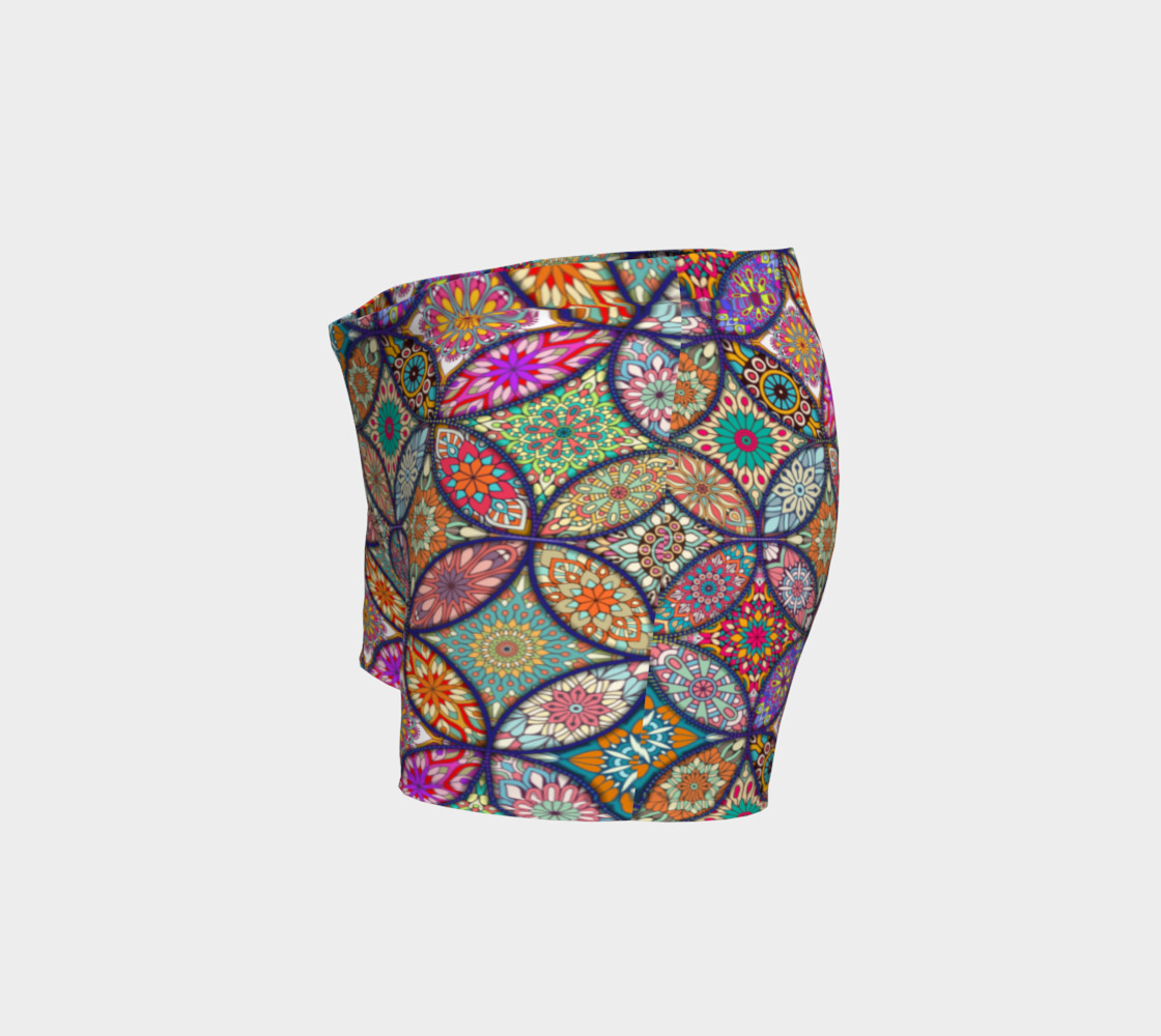 Vibrant Mandalas Shorts preview #2