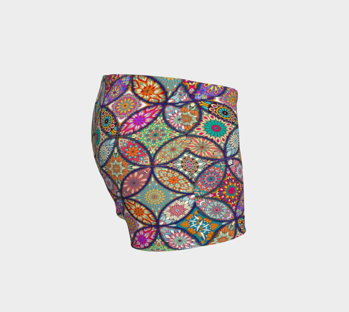 Vibrant Mandalas Shorts preview #3